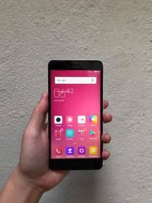 Xiaomi Redmi Note 2 free casing tempered glass