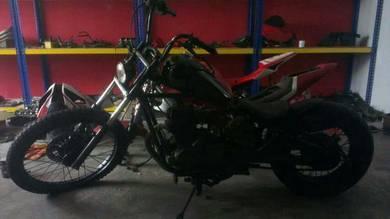 2000 Modenas Jaguh Custom Harley