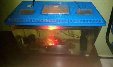 Plastic aquarium 2.5 ft