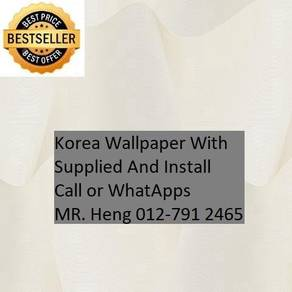 Design Decor Wall paper with Install kjyt54