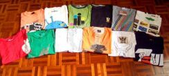 LOT of 12 Tee Shirts - Assorted Size S & M