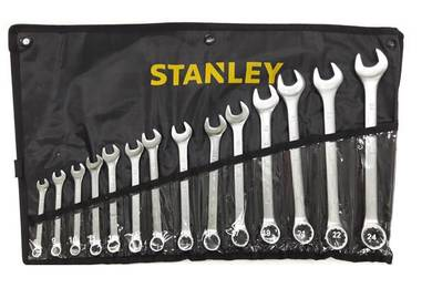 Stanley 14pcs Combination Wrench Set 8-24mm