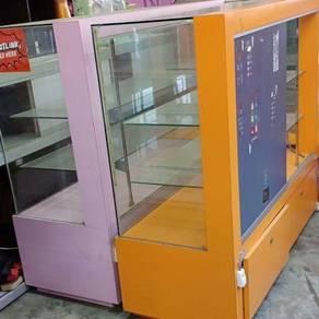 Rak kaca cabinet glass handphone accessory