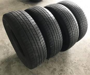 Tayar 17 inci/inch 265 65 17 x 4pcs Bridgestone