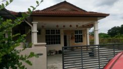 Single Storey semi-d, taman bersatu, kulim
