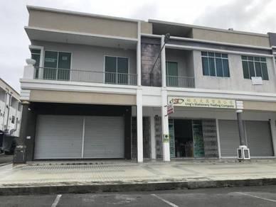 Double Storey Corner Shoplot at Senadin, Miri