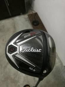 Golf Driver Titleist 915 D2