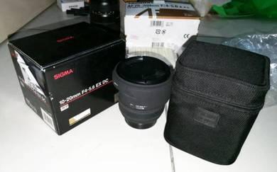 Sigma ultra wide lens