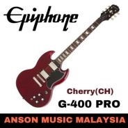 Epiphone G-400 PRO Electric Guitar, Cherry