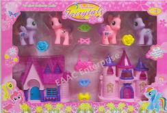 In 1 My Little Pony Poney House set