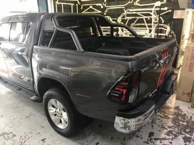 Toyota Hilux Revo Sporty Black Metal Roll Bar NEW