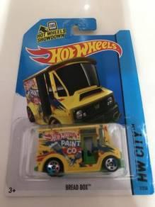 Hot Wheels Bread Box (Yellow)