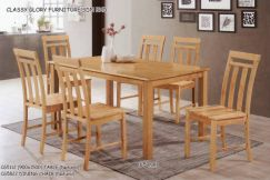 Nature 6 seater dining set
