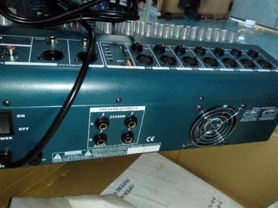 Power mixer amplifier