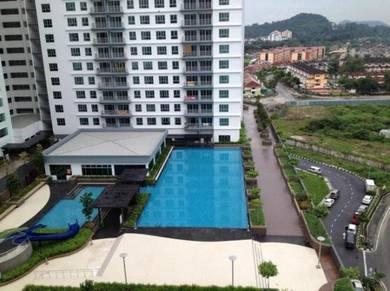 Lowest Price Golden Triangle Condo At Sungai Ara - Middle Floor