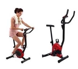 Home basic exercise bike red colour 566