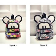 Mini mouse backpack