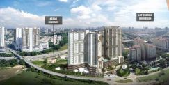 150meter to LRT , Dual key 3 bedroom layout , 5 mins to Pavillion 2 !