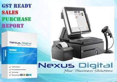 Mesin Retail Terminal Pos System Kashier