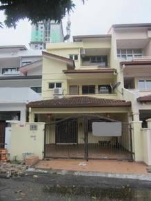 Setapak medan idaman, two haly storey terrace house sale
