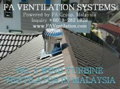 KUALA NERUS TERENGGANU Wind Turbine Ventilator US