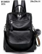 Backpack with toy chain black 2