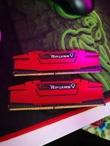 8GB RAM G.Skill Ripjaws