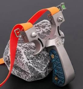 Stainless Steel G10 Slingshot | Lastik Besi