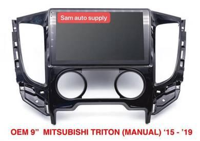 Mitsubishi triton OEM android player (manual air)