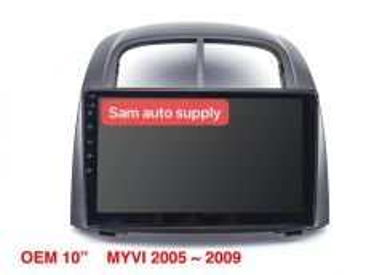 Perodua myvi OEM android player GPS waze