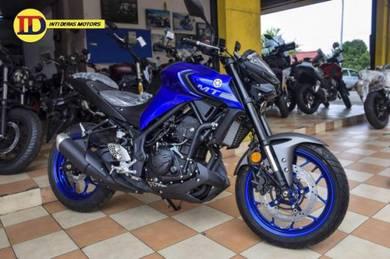 Yamaha NEW MT 25 MT25 MT-25 2021