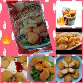 Premium grade tempura chicken nugget 1kg 50 pcs