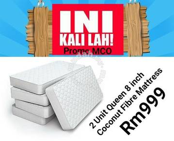 Buy 2 Coconut Fibre mattress 8 inch only Rm999