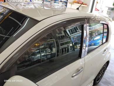 Perodua Myvi2011-2017Door Visor