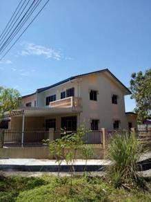 Double storey Corner Batu Kawa for sale 双层角头石角出售