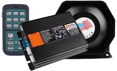 FEDERAL SIGNAL USA Wireless 200W Talking Siren