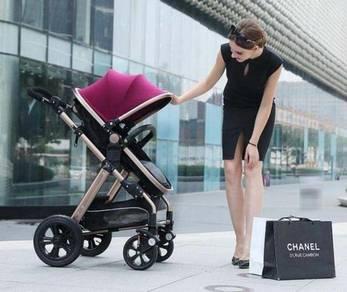Premium Modern Baby Stroller Baby Cart