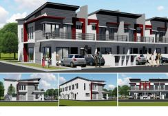 New Launch D/S Terrace In Seremban, Port Dickson,