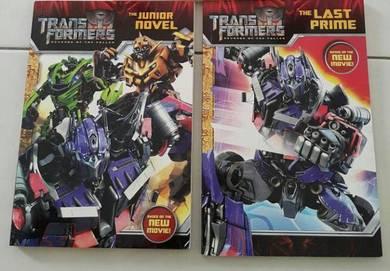 Transformer English children story books fo puzzle