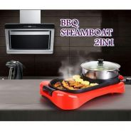 New bbq steamboat 2 in 1 788