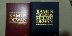 Dewan bahasa dictionary books