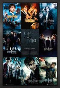 Poster HARRY POTTER ALL MOVIES