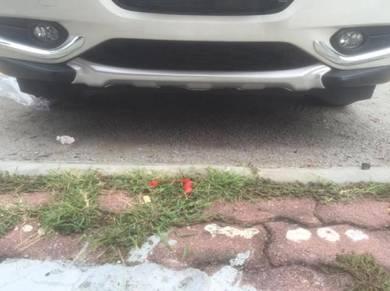Honda hrv chrome front and rear bumper guard 2pcs
