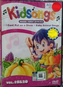 DVD Kidsongs Music Video Stories Vol.19&20