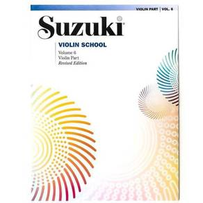Suzuki Violin School,Vol 6: Violin Part without CD