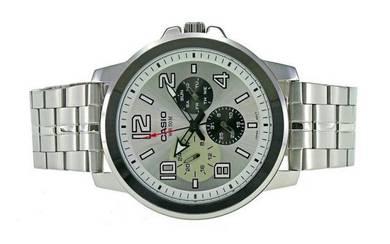 Casio Men Multi Hands Big Case Watch MTP-X300D-7AV