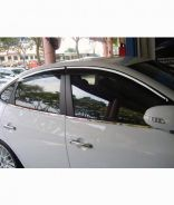 Honda Civic 2016 Window Moulding Chrome
