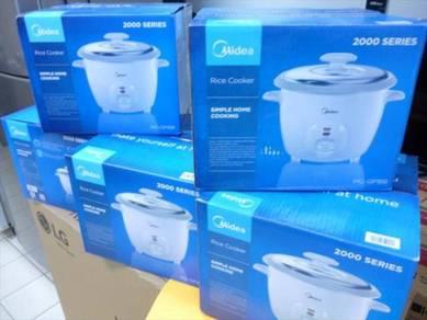 0% gst New MIDEA Automatic Rice Cooker 1.8L
