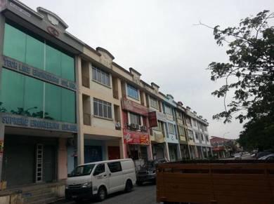 Bandar Bukit Puchong, Fully Furnish 3 Storey End Lot Shop Ofice