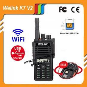 Welink k7 v2 malaysia walkie talkie NEW